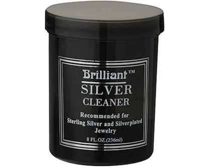 Brilliant Silver Jewelry Cleaner, 8 Ounces