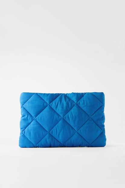 Slouchy Quilted Clutch