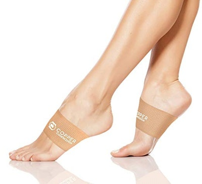 Copper Compression Arch Support Sleeves