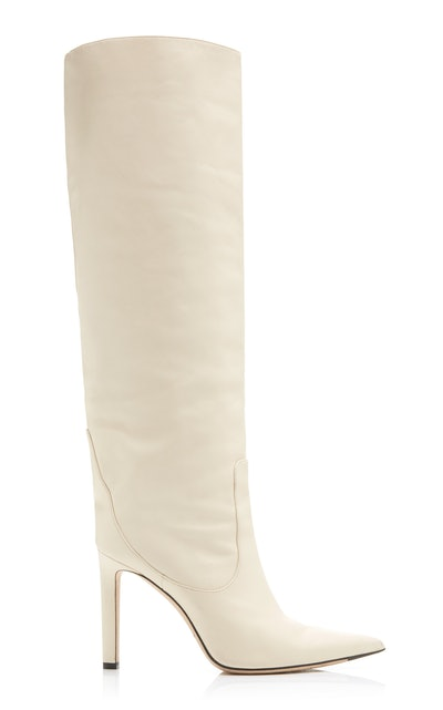 Mavis Leather Knee Boots