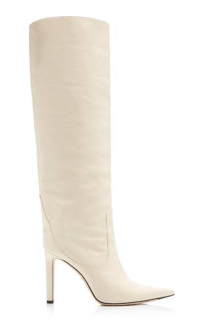 Mavis Leather Knee Boots