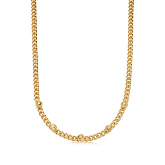 Lucy Williams Gold Lucky Charm Necklace
