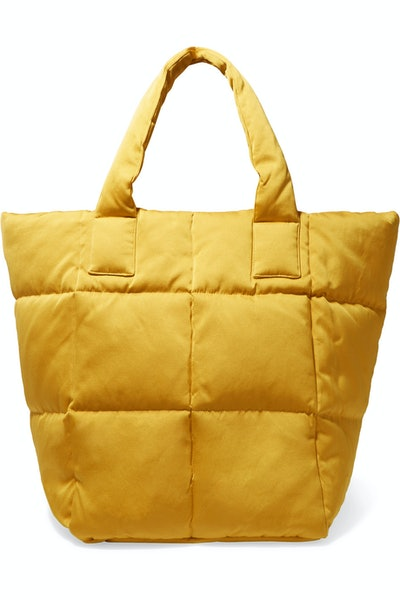 Quilted Sateen Tote