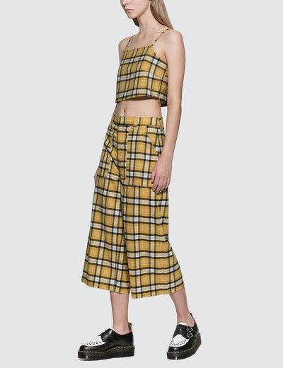 Plaid Camisole & Pants