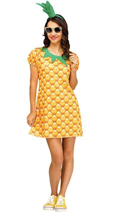 Fun World Women's Cute Pineapple Costume