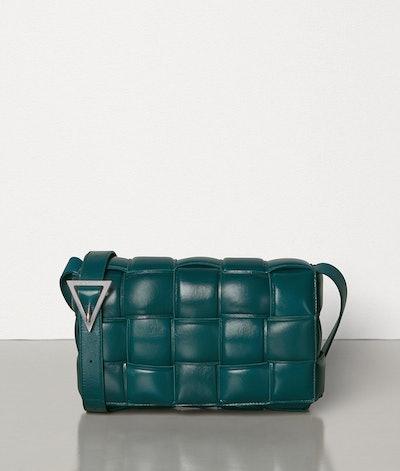 Padded Calf Leather Cassette Bag