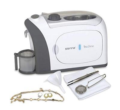 Sienna TrioShine 3-In-1 Ultrasonic Jewelry Cleaner Machine