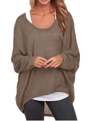 ZANZEA Oversized Pullover