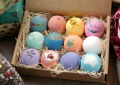LifeAround2Angels Bath Bomb Gift Set (Set of 12)
