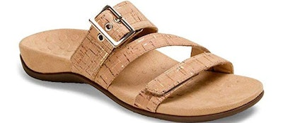 Vionic Women's Skylar Slide Sandals With Concealed Arch Support