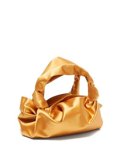 Ascot Silk-Satin Bag