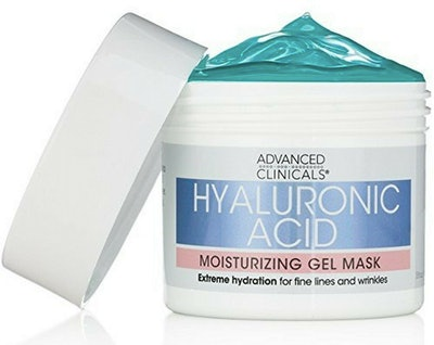 Advanced Clinicals Hyaluronic Acid Moisturizing Gel Mask