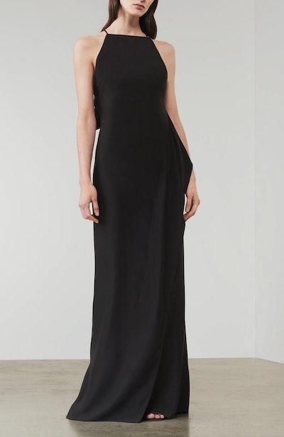 Asymmetric Cami Floorlength Dress