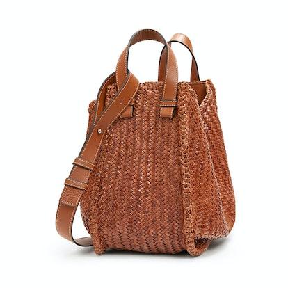 Hammock Tan Woven Medium Bag
