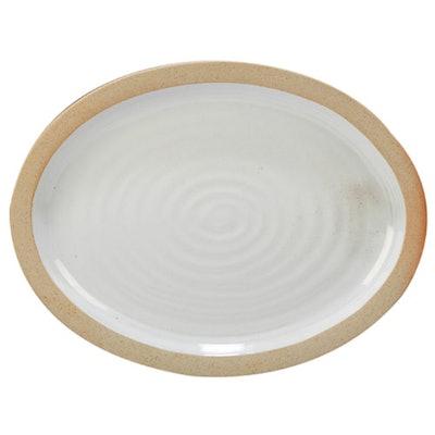 Certified International Artisan Oval Ceramic Serving Platter