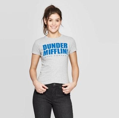 Women's The Office Dunder Mifflin Short Sleeve Graphic T-Shirt