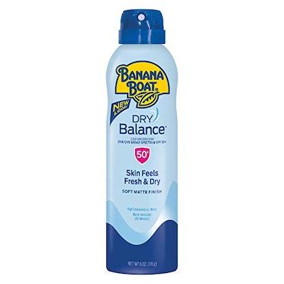 Banana Boat Dry Balance Sunscreen SPF 50+
