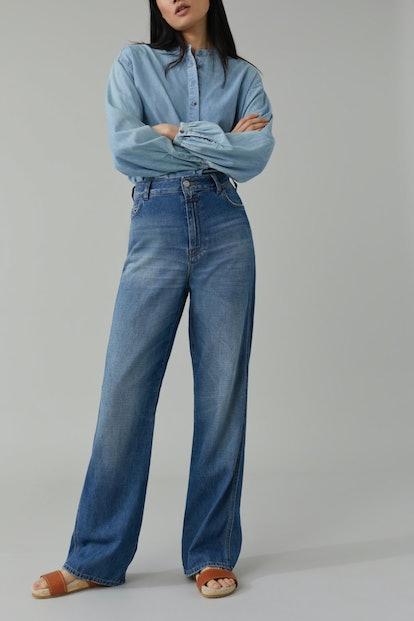 Kathy Broken Twill Jeans