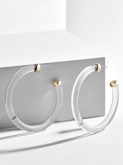 Leia Rein Hoop Earrings