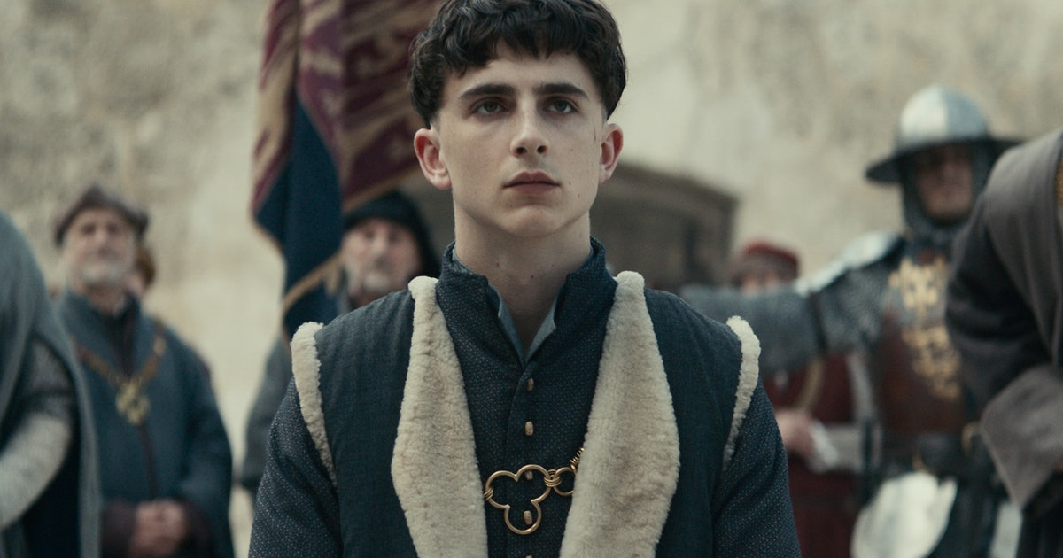 Is 'The King' Based On Shakespeare? Timothée Chalamet Headlines This Netflix Period Drama