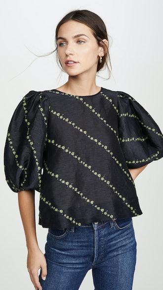 Silk Linen Blouse