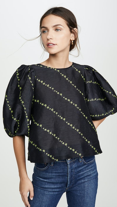 Silk Linen Blouse