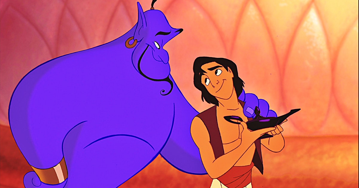 'Aladdin's Original Ending With Genie's Transformation Was Revealed By The Director