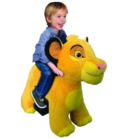Lion King 6 Volt Cub Simba Plush Ride On