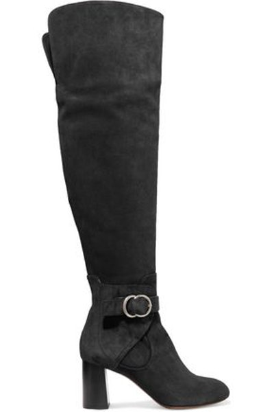 Chloé Suede Over-The-Knee Boots