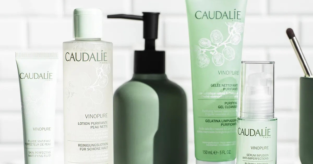 Caudalie's New Vinopure Purifying Gel Cleanser Is The Latest Addition To This Fan-Favorite Skincare Collection