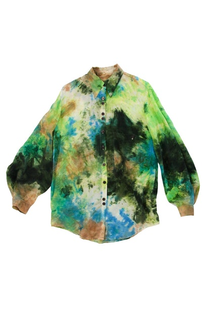 Morel Shirt in Earth Tie-Dye