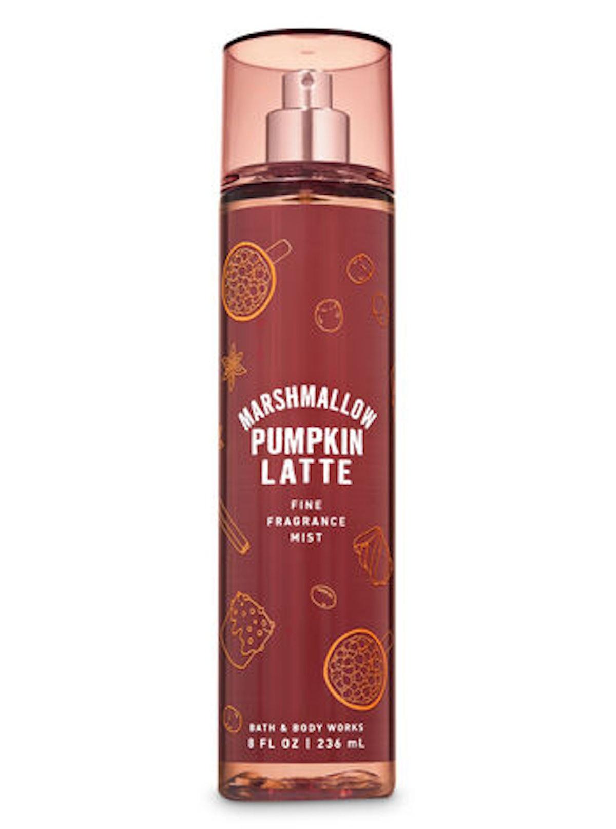 Marshmallow Pumpkin Latte Fine Fragrance Mist