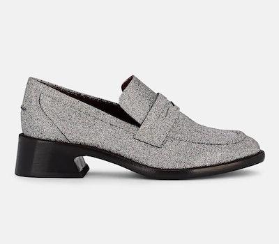 Sies Marjan Eddie Glitter Loafers
