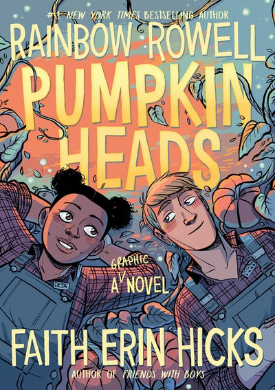 'Pumpkinheads' by Rainbow Rowell and Faith Erin Hicks