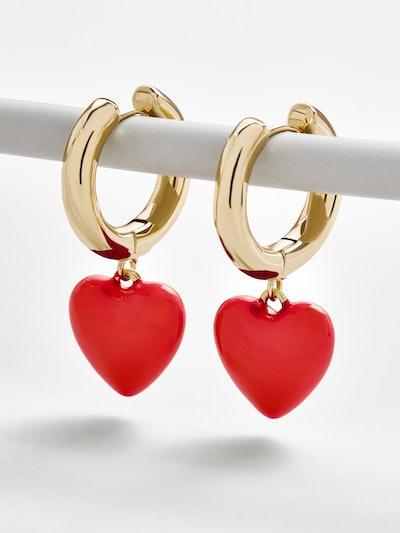 Fiona Huggie Hoop Earrings