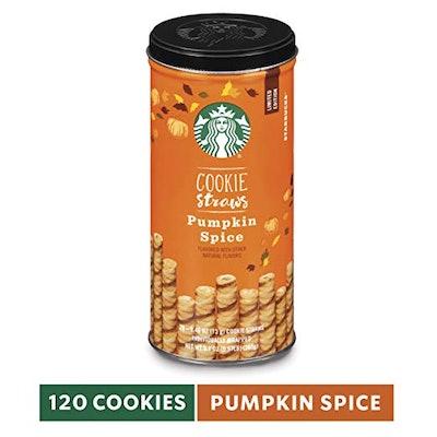 Starbucks Cookie Straws, Pumpkin Spice