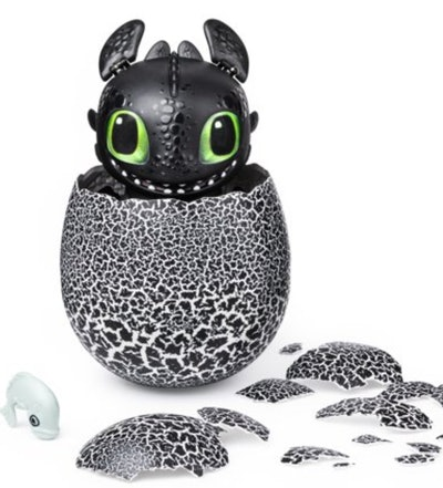 Hatching Toothless Interactive Baby Dragon