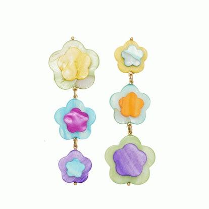 Tutti Fruity Earrings in Rainbow