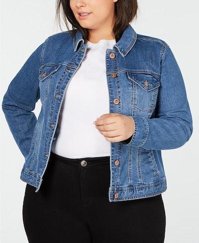 Style & Co Plus Size Denim Jacket