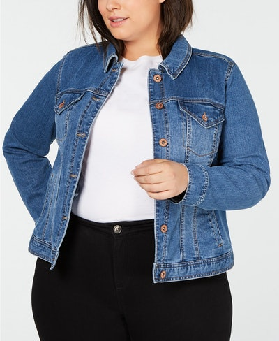 Style & Co Plus Size Denim Jacket