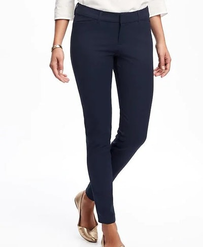 Mid Rise Pixie Full Length Pants For Women