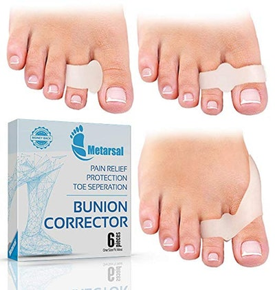 Metatarsal Bunion Corrector Support Kit (6-Pack)