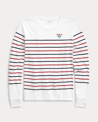 US Open Cotton Long-Sleeve Tee