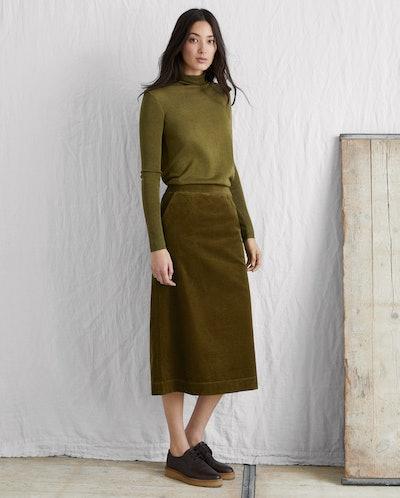 Soft Cord Skirt