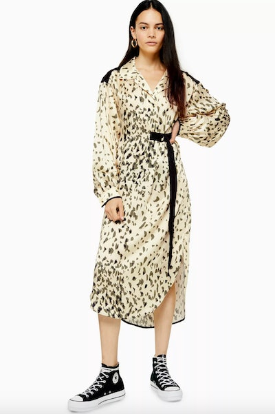 Animal Smock Dress By Boutique