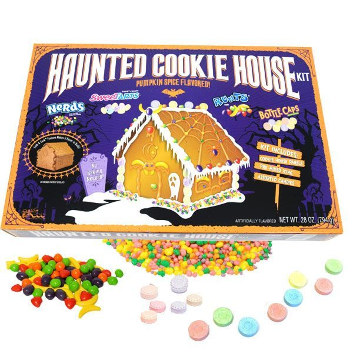 Wonka Haunted Cookie House Kit