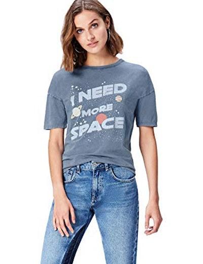 find. Women's Slogan Crew Neck T-Shirt