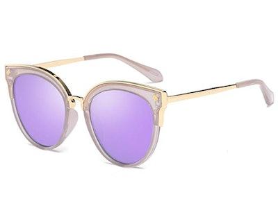Bevi Women's Cat Eye Sunglasses