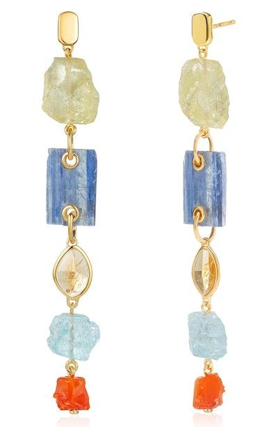 Gemstone Cocktail Earrings