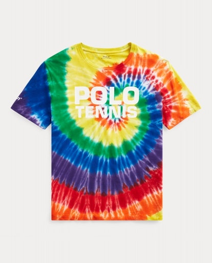 US Open Tie-Dye Cotton Tee